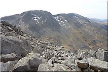 SH6659 : The Glyders from Tryfan Summit by Ivan Hall