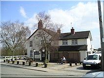 SJ8512 : The Hartley Arms Pub, Wheaton Aston by canalandriversidepubs co uk