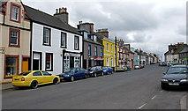 NX4355 : Street scene, Wigtown by Anthony O'Neil