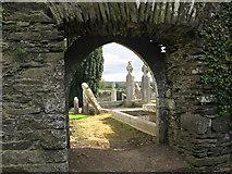 O0663 : Doorway, Ardcath Church, Co. Meath by Kieran Campbell