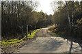 NM9632 : Forestry road near Fearnoch by Steven Brown