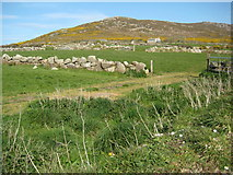 SW4538 : View to Zennor Hill by Philip Halling