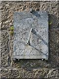 SW4538 : Sundial, Zennor Church by Philip Halling