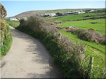 SW4538 : Road to Zennor by Philip Halling