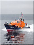 SW3526 : Putting the lifeboat through its paces 1 by Rod Allday