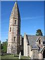 SJ2322 : St Michaels Church Tower Llanyblodwell by John Firth