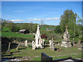 SJ2322 : Llanyblodwell churchyard by John Firth