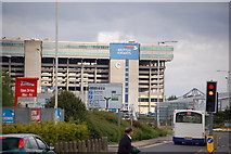 TQ0975 : Hatton Cross roundabout by Roger Davies