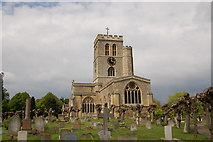 SP7006 : St Mary's church, Thame in May 2010 by Roger Davies