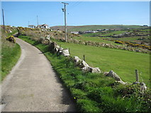 SW4538 : Road into Zennor by Philip Halling