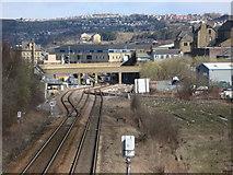 SE1632 : Mill Lane Junction & Caledonia Street Bridge, Bradford by Stephen Armstrong