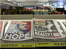 SM9537 : Supermarket newspapers, general election day 2010 by ceridwen