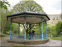 SK3455 : Bandstand at Crich tramway museum by Stephen Craven