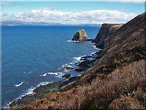NG2565 : Waternish Coastline by Richard Dorrell