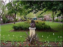 TQ3081 : Mother & Child statue, Queen Square gardens, WC1 by David P Howard