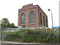 TQ4578 : Railway electricity substation, Plumstead by Stephen Craven