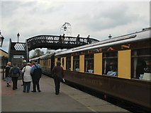 TQ4023 : Train at Sheffield Park station by Paul Gillett