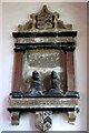 TF6211 : The church of SS Peter and Paul in Watlington - monument by Evelyn Simak