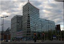 SJ3490 : One Park West, Liverpool by Mike Pennington