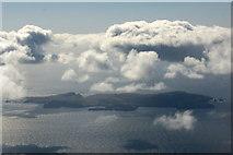 HZ2171 : Fair Isle from the air by Mike Pennington