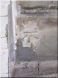 NN8621 : Bench Mark, Crieff by Maigheach-gheal