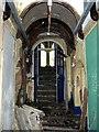 SM9732 : Barham School, stairs by ceridwen