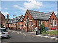 TQ2769 : St Mark's C of E primary school, Mitcham by Stephen Craven