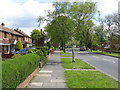 SP0395 : Walsall - Birchfield Way by Peter Whatley