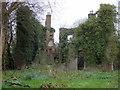 SM9532 : Ruined mansion, Llanstinan, side view by ceridwen