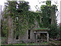 SM9532 : Ruined mansion, Llanstinan, front view by ceridwen