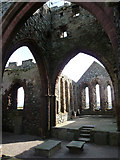 SC2484 : Ruins of St German's Cathedral, Peel by Chris Gunns