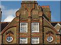 TQ2987 : Upper elevation, former Archway School, Highgate Hill, North London by Jim Osley