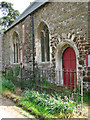 TL6199 : St Mary's church in Fordham - north doorway by Evelyn Simak