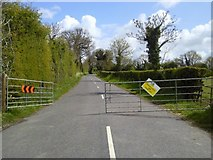 N9452 : Road Closed, Co Meath by C O'Flanagan