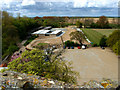 TG5012 : Caister Castle car museum from the castle tower by John Goldsmith