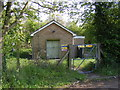TM4074 : Pumping Station on Low Road by Adrian Cable