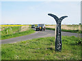 TR0731 : National Cycle Network 2 Milepost by Oast House Archive