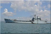 SY7074 : HMS Sir Tristram by Nick Mutton