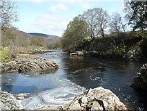NH4891 : River Carron just below the falls by sylvia duckworth