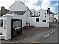 NR3059 : Entrance to the Bowmore distillery by Andrew Abbott