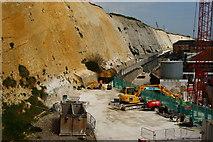 TQ3303 : Undercliff Walk, Brighton Marina, Sussex by Peter Trimming