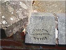 SP2871 : Wall coping, Wilton House, Southbank Road, Kenilworth by John Brightley