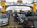 TQ4379 : A ferry-full of minis by Stephen Craven