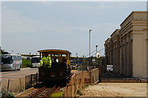 TQ3303 : Volk's Electric Railway, Brighton, Sussex by Peter Trimming