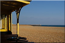TQ3203 : Brighton Beach, Sussex by Peter Trimming