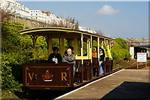 TQ3203 : Volk's Electric Railway, Brighton, Sussex by Peter Trimming