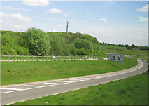 SP0005 : Exit from A417 for Daglingworth southbound by John Firth