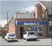 SE3634 : Domino's - Cross Gates Road by Betty Longbottom