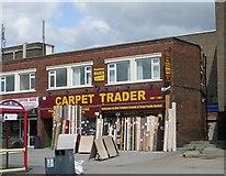 SE3634 : Carpet Trader - Cross Gates Road by Betty Longbottom