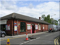 SE3634 : Cross Gates Station Booking Office - Station Road by Betty Longbottom